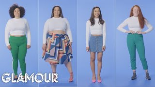Women Sizes 0 Through 28 Try on the Same Crop Top | Glamour