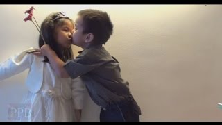 Repeat youtube video Cute, funny kids love and kiss