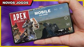 APEX MOBILE FAN e NOVOS JOGOS PARA ANDROID