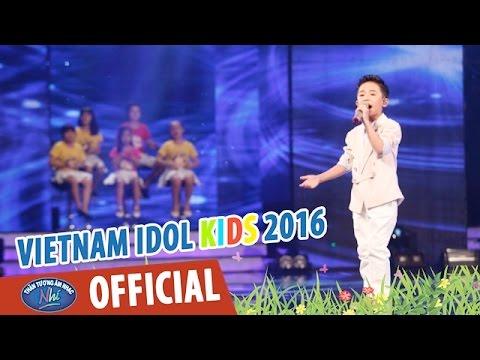 VIETNAM IDOL KIDS - THẦN TƯỢNG ÂM NHẠC NHÍ 2016 - VÒNG STUDIO - THƯƠNG QUÁ VIỆT NAM - ĐỨC THANH