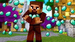 ŞEHRE ELMAS YAĞMURU GELDİ! 😱 - Minecraft