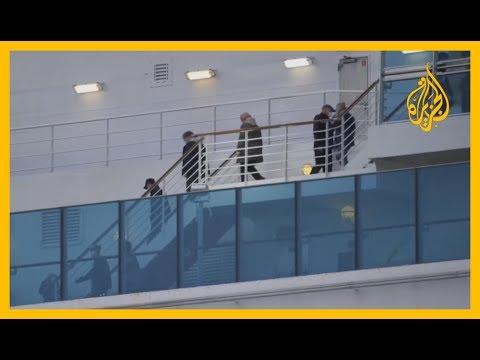 أميركا تواصل إجلاء مواطنيها من سفينة -#دايموند_برنسيس-  - نشر قبل 3 ساعة