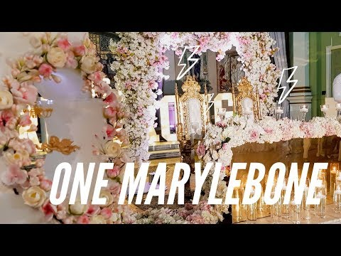 Weddings at One Marylebone London