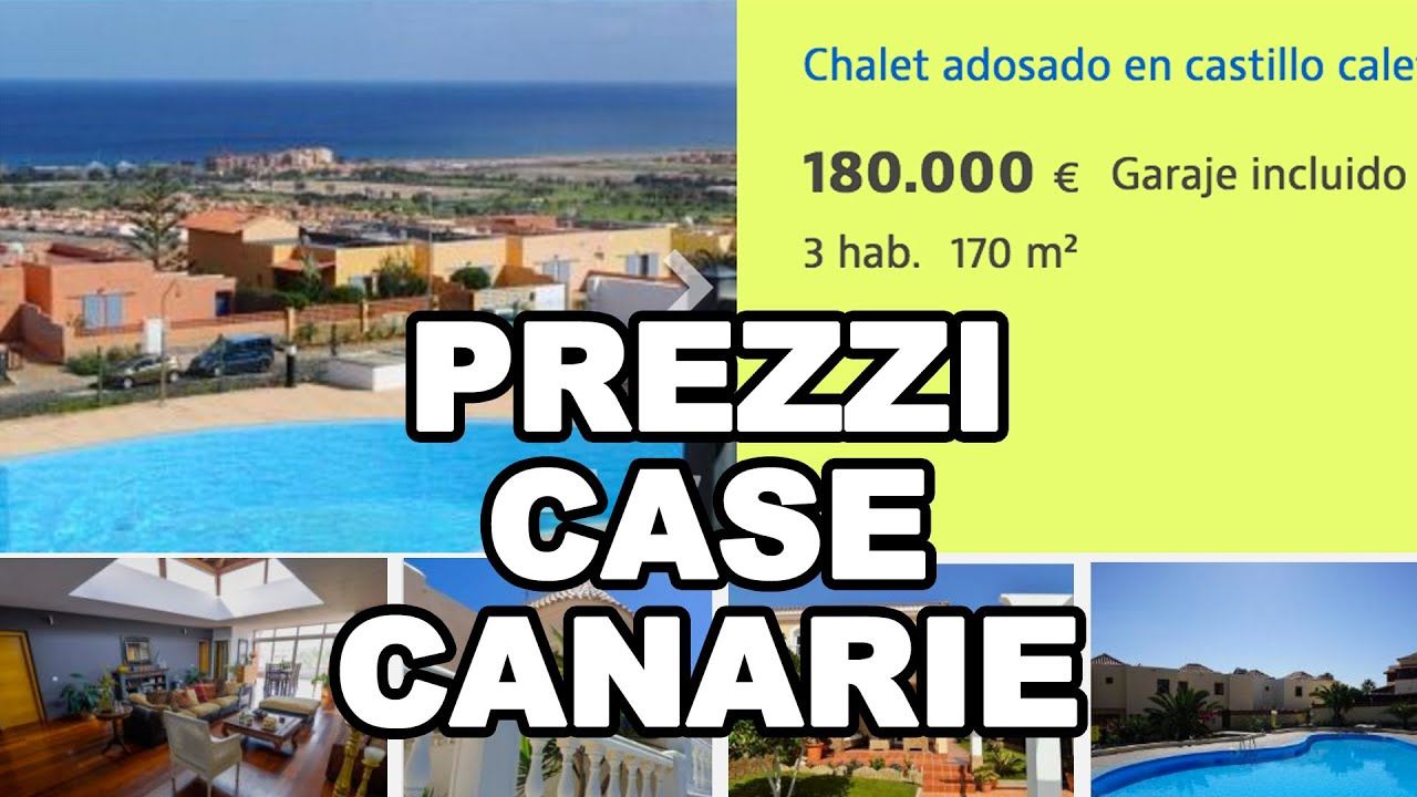 Quanto costano le case alle canarie youtube for Case a tenerife in vendita