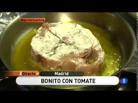 Receta de Bonito con tomate (Fuente: España Directo)