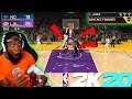 NBA 2K20 LEBRON DUNKS ON 3 PLAYERS! TAKEOVER OP! Lakers vs Pelicans! thumbnail