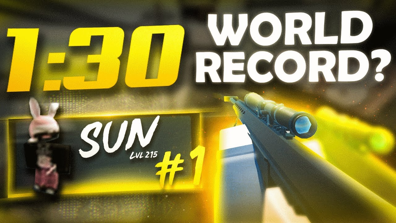 attempting to break arsenal world records (ROBLOX)