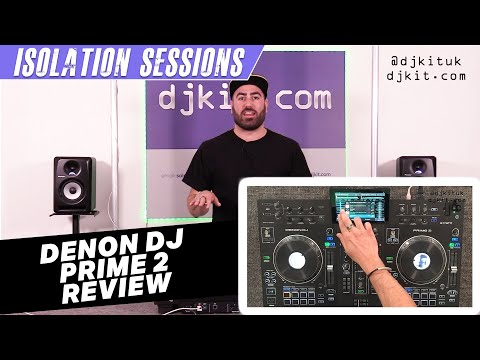Denon DJ Prime 2 Standalone DJ Controller - In Depth Feature Review & First Impressions #TheRatcave