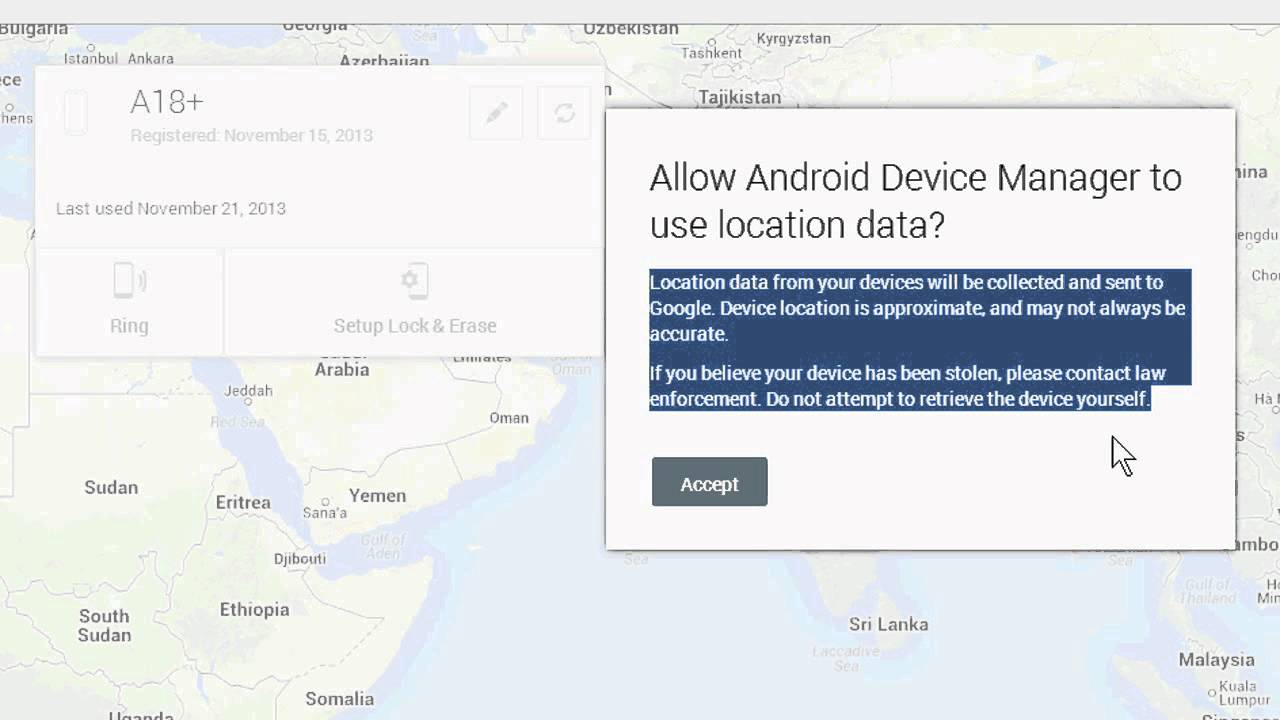 Find Location Of Phone Number On Map >> How To Find A Cell Phone Location With Google Free Service Youtube