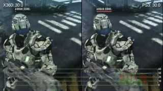 Vanquish Xbox 360 vs. PlayStation 3 Like-For-Like Frame-Rate Tests
