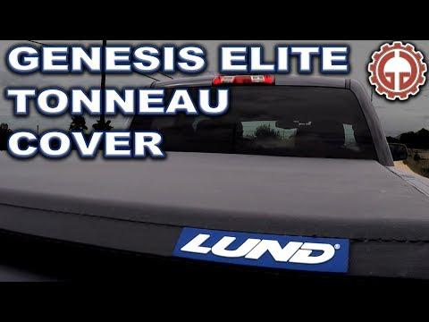 LUND Genesis Elite Roll Up Tonneau Cover - UNBOX, INSTALL, & DEMO