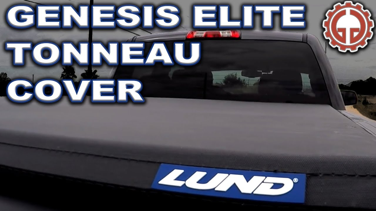 Lund Genesis Elite Roll Up Tonneau Cover Unbox Install Demo Youtube