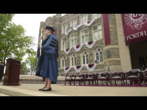 Fordham University Commencement 2017