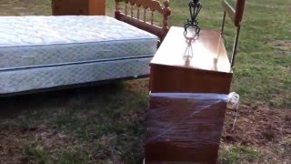 QUEEN BEDROOM SET Furniture Sale - Clarkesville, GA - Estate, Moving Garage Sale