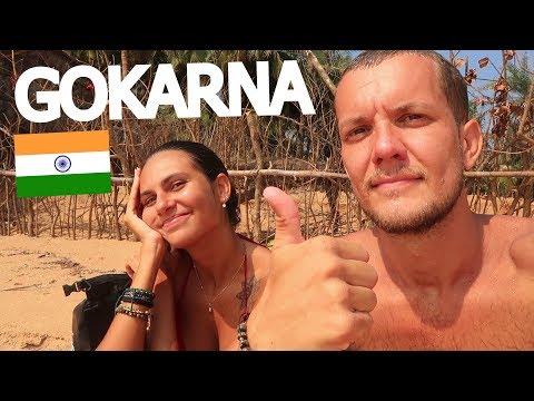 GOKARNA BEACHES! 🇮🇳 KUDLE & OM BEACH (INDIA)