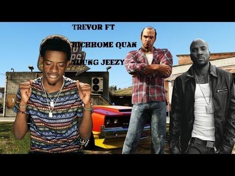 YG - My Nigga ft. Jeezy, Rich Homie Quan (SPOOF)(GTA V)
