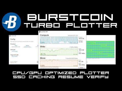 How To Use Burstcoin Turbo Plotter. Create Burst Mining Plots Fast & Easy.