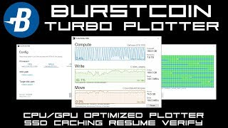 How To Use Burstcoin Turbo Plotter. Create Burst Mining Plots Fast & Easy.