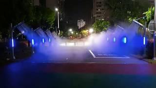 [안개핀조경]경기도 동두천 시민근린공원 쿨링포그 공사