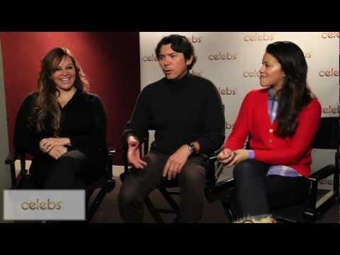 "Gina Rodriguez, Lou Diamond Phillips & Jenni Rivera talk ""Filly Brown"" @Celebs.com's Sundance Studio"