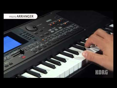 KORG microarranger version castellano