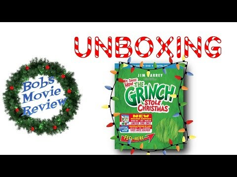 How The Grinch Stole Christmas Blu Ray.How The Grinch Stole Christmas Blu Ray Unboxing Digital Hd Giveaway