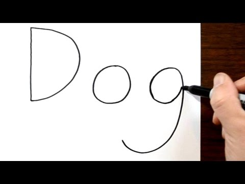 How to Turn Words Dog into a Cartoon #4