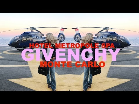 MONTE CARLO WITH GIVENCHY BEAUTY | HOTEL METROPOLE GIVENCHY SPA | IAM CHOUQUETTE