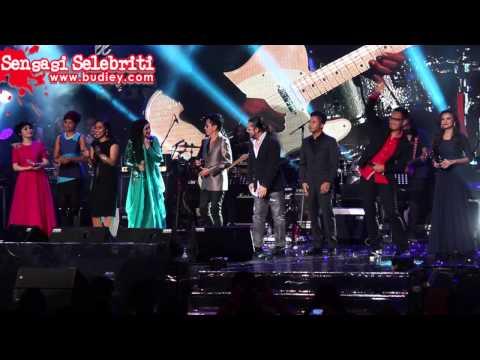 Amy Search & Dato' Siti Nurhaliza duet Lagu Isabella di Konsert Destini
