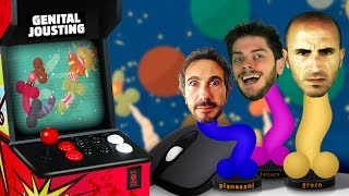 let s play genital jousting gameplay giocato ita