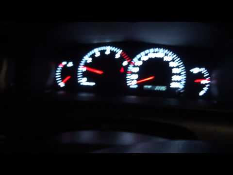 Toyota Corolla 1.4 D4D Cold start -20C