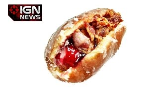 New Hot Dog Combines Bacon, Raspberry Jelly, and Donuts - IGN News