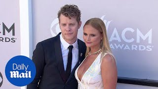 White hot! Miranda Lambert at ACMs with Anderson East in 2017 - Daily Mail