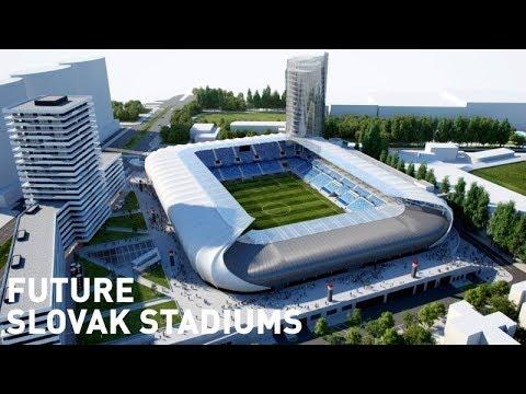 Future Slovak Stadiums / Budúce slovenské štadióny