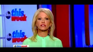 Kellyanne Conway Thinks People On Medicaid Should Get A Job