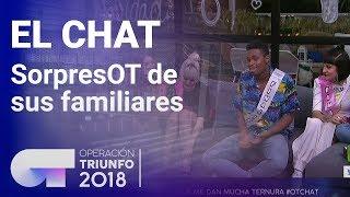 SorpresOT de sus familiares | El Chat | Programa 12 | OT 2018
