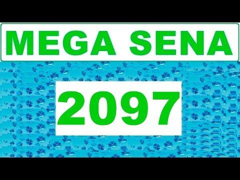 Mega sena 2097 - Resultado da Mega sena dia (14/11/2018)