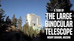 Touring Arizona's Giant Observatory: The Large Binocular Telescope