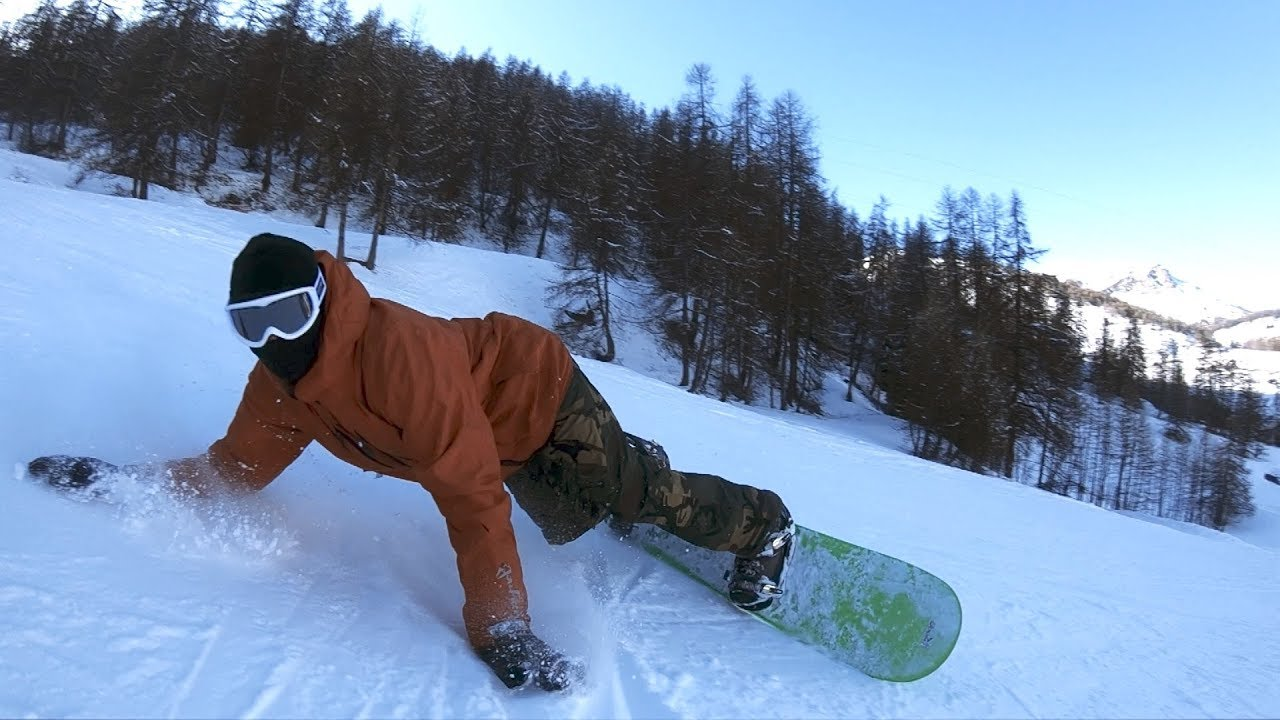 Carving With Spring Break Snowboard Slush Slasher In Auron Youtube