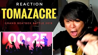 REACTION | TOMAZACRE | Grand Beatbox Battle 2019 | Solo Elimination