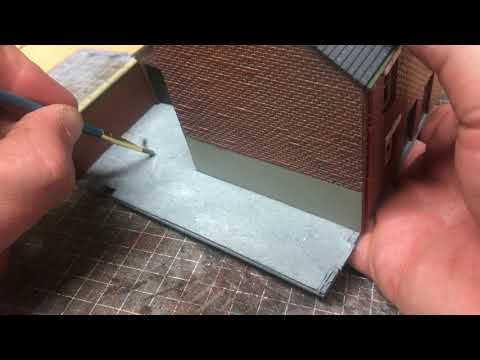 Building A OO Gauge Model Railway: Domestic Yard Scene Scratch Build