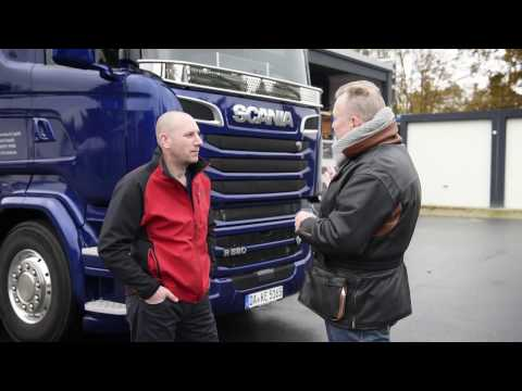 Scania Financial Services, customer testimonial film – Finance