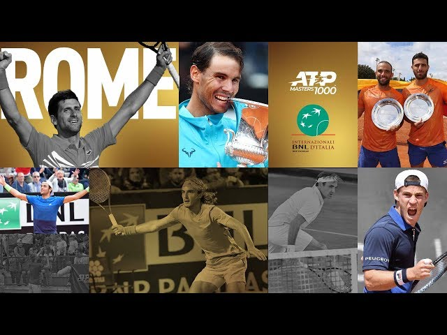 Story Of The 2019 Internazionali BNL d'Italia