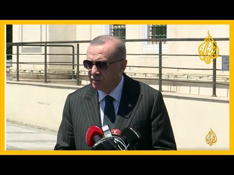 الرئيس التركي: ناقشت مع أمير دولة قطر في الدوحة ملفات ليبيا وسوريا والعراق والسودان واليمن  - نشر قبل 4 ساعة