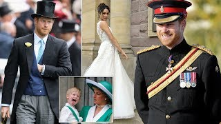 What is Harry's full name? What will his title be when he marries Meghan Markle?