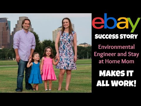 eBay Seller Success Story: Stay at Home Mom and Civil Engineer Kristen