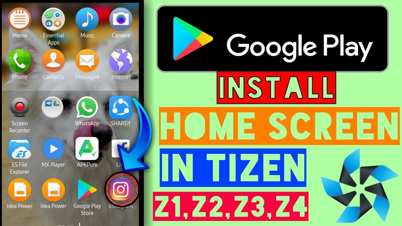 13 01 MB] HOW TO INSTALL GOOGLE PLAY APP IN TIZEN HOME SCREEN