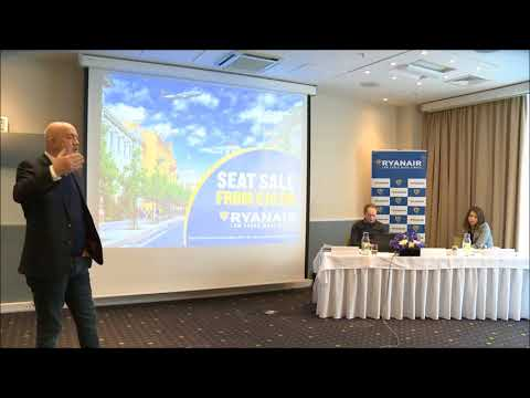 David O'Brien CCO of Ryanair presentation in Vilnius 2018 03 01
