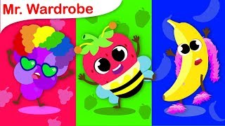 Crazy Fruits Dress Up Party | Mr Wardrobe | Nursery Rhymes and Fun Songs for Kids by Little Angel