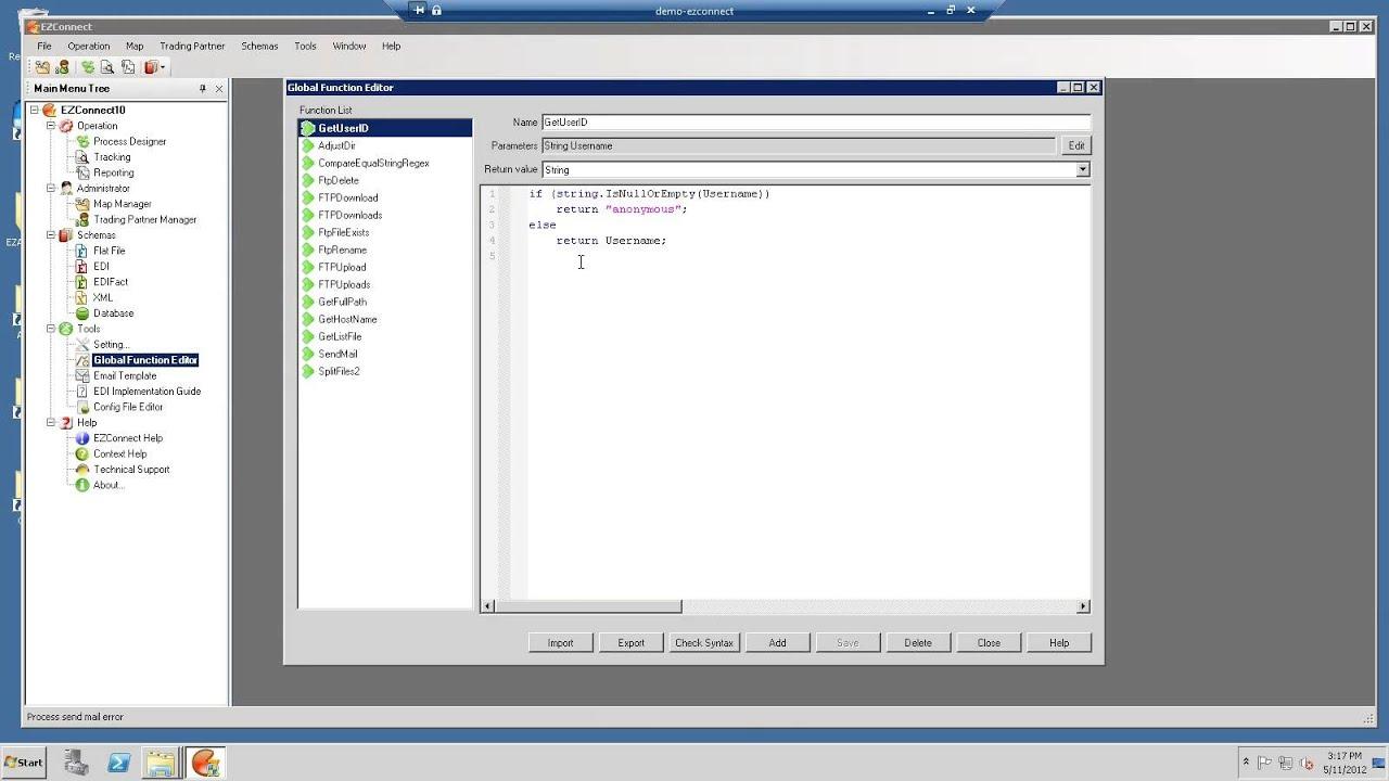 ACOM's EZConnect EDI / XML - Legacy EDI Replacement Solution